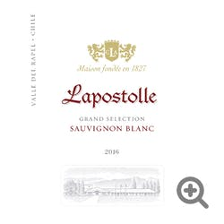 Lapostolle 'Grand Selection' Sauvignon Blanc 2018