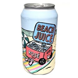 Beach Juice Rose Can 375ml image