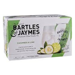 Bartles & Jaymes 'Cucumber Lime' 6-12oz Cans image