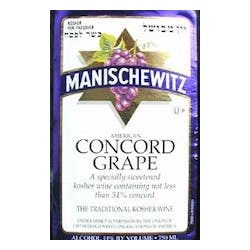 Manischewitz Concord Concord Grape OUP 750ml image