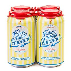 Fishers Island Lemonade 4-355ml Cans image