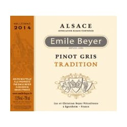 Domaine Emile Beyer 'Tradition' Pinot Gris 2017