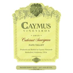 Caymus Vineyards Cabernet Sauvignon 2017 image