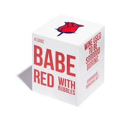 Babe 'Sparkling' Red 4-187ml Cans image