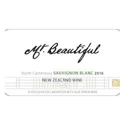 Mt Beautiful Sauvignon Blanc 2018 image