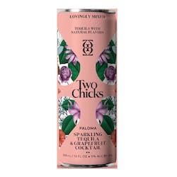 Two Chicks 'Paloma' Tequila & Grapefruit 355ml image