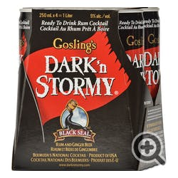 Gosling's Dark 'n Stormy 4-250ml Cans