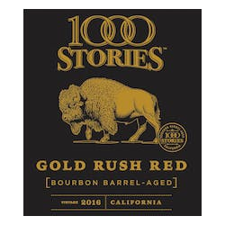1000 Stories Bourbon Barrel 'Gold Rush' Red 2017 image