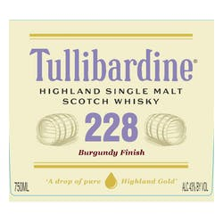 Tullibardine 'Burgundy Cask' Single Malt Scotch image