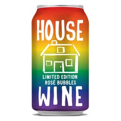 House Wine Sparkling Rose 375ml Cans image
