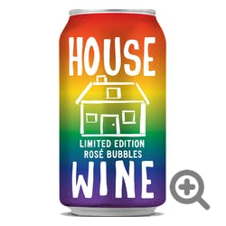 House Wine Sparkling Rose 375ml Cans