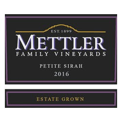 Mettler Family Vineyards Petite Sirah 2016 image