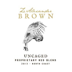 Z. Alexander Brown 'Uncaged' Red Blend 2017 image