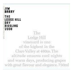 Jim Barry Lodge Hill Dry Riesling 2018 image