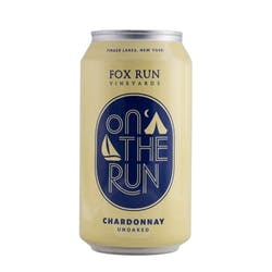 Fox Run Unoaked Chardonnay Can 375ml image