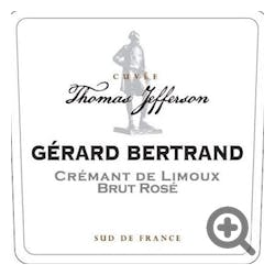 Gerard Bertrand Cremant Rose Jefferson 2015