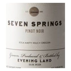 Evening Land 'Seven Springs Vineyard' Pinot Noir 2017 image