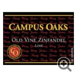 Campus Oaks 'Old Vine' Zinfandel 2015