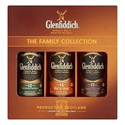 Glenfiddich 'Trio Pack' Single Malt Scotch 200ml image
