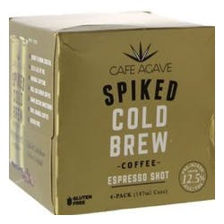 Cafe Agave Espresso Shot Spiked Cold Brew 4-187ml image