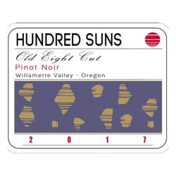 Hundred Suns 'Old Eight Cut' Pinot Noir 2017 image