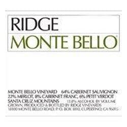 Ridge Vineyards 'Monte Bello' Cabernet Blend 2016 image