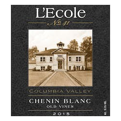 L'Ecole No 41 Columbia Valley Old Vines Chenin Blanc 2018 image