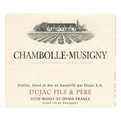 Dujac Files et Pere Chambolle-Musigny 2017 image