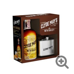 Clyde May's 85prf w/Flask GIFT Alabama Style Whiskey