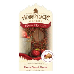 Adirondack Winery 'Home Sweet Home' Apple Pie White Blend image