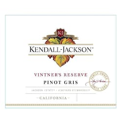 Kendall Jackson 'Vintner's Reserve' Pinot Gris 2018 image