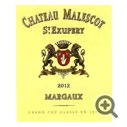 Chateau Malescot St. Exupery Margaux 2012