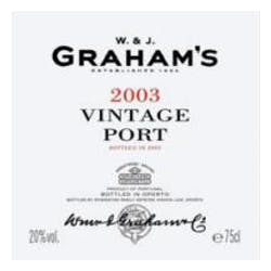 Graham's Vintage Port 2003 375ml image