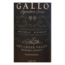 Gallo Family Signature Series 'Dry Creek' Zinfandel 2014 image