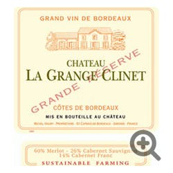 Chateau La Grange Clinet Bordeaux 2016 1.5L