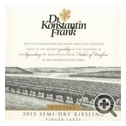 Dr. Frank 'Semi Dry' Riesling 2018
