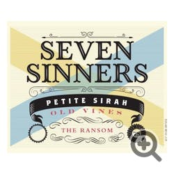 Seven Sinners 'The Ransom' Old Vine Petite Sirah 2017