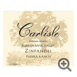Carlisle Winery 'Papera Ranch' Zinfandel 2017