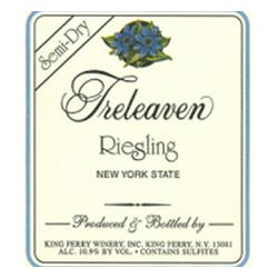 Treleaven by King Ferry Winery Semi Dry Riesling 2013 image