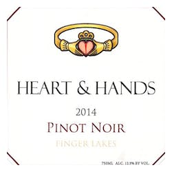 Heart & Hands Wine Company Pinot Noir 2018 image