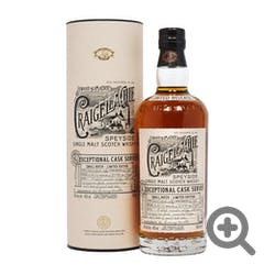 Craigellachie Exceptional 19yr Scotch