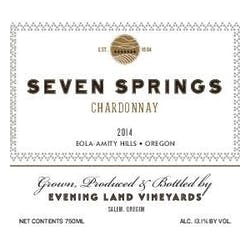 Evening Land Seven Springs Chardonnay 2017 image