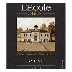 L'Ecole 41 Columbia Valley Syrah 2017 image