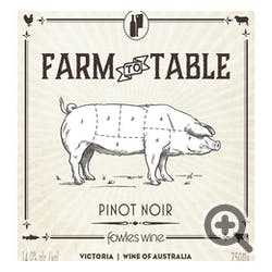 Farm to Table Pinot Noir 2018