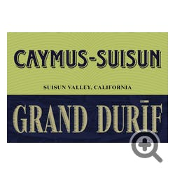Caymus Suison Grand Durif Petite Sirah 2017
