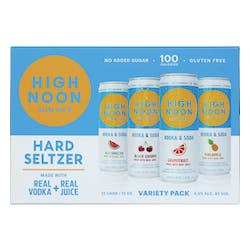High Noon Variety Pack Hard Seltzer 12 - 355ml Cans image