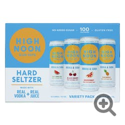High Noon Variety Pack Hard Seltzer 12 - 355ml Cans