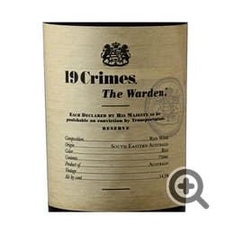 19 Crimes 'The Warden' Red Blend 2017