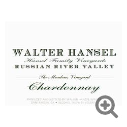 Walter Hansel 'The Meadows' Chardonnay 2017