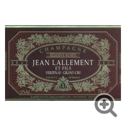 Jean Lallement Champagne Grand Cru Champagne Rose